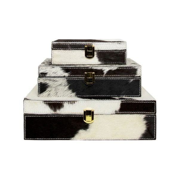 Box Cow  Black   Leather 25