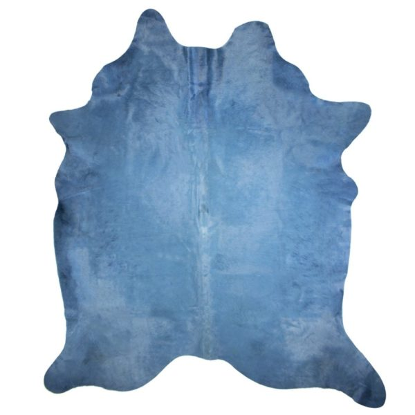 Carpet Cow  Blue   Leather 250x150x0