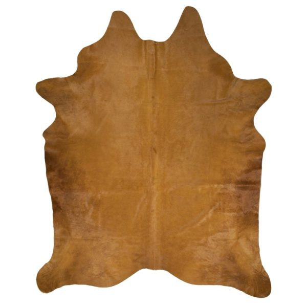 Carpet Cow  Cognac   Leather 250x150x0