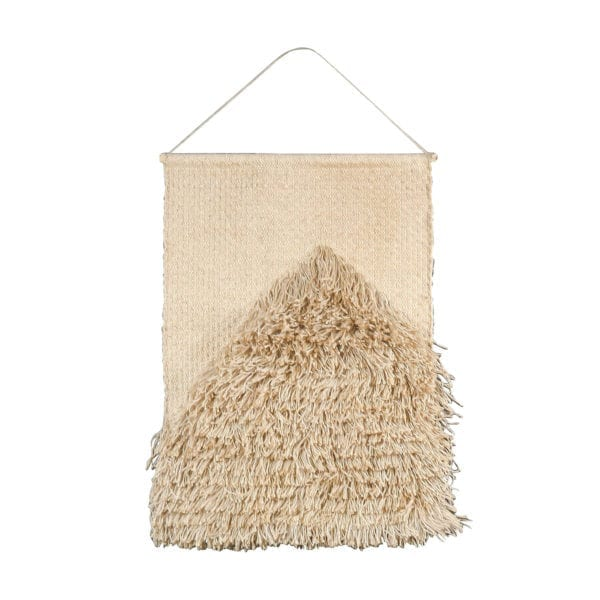 Toile De Jute Tapisserie Rectangle Blanchi 60x90cm Jute - LifeDeals