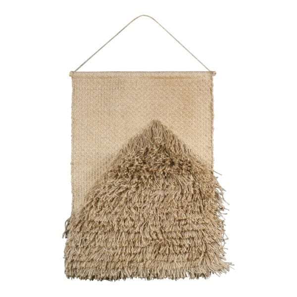 Toile De Jute Tapisserie Rectangle Naturel 60x90cm jute - LifeDeals